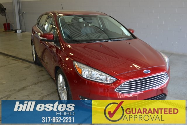 New 2015 Ford Focus Titanium 4D Hatchback