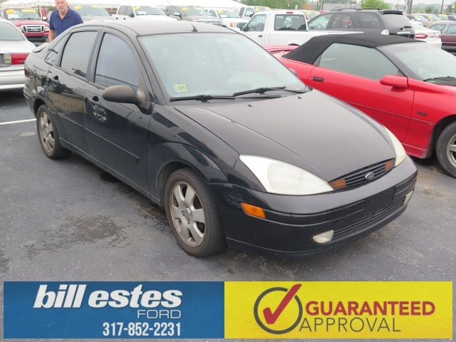 Pre-Owned 2001 Ford Focus ZTS 4D Sedan