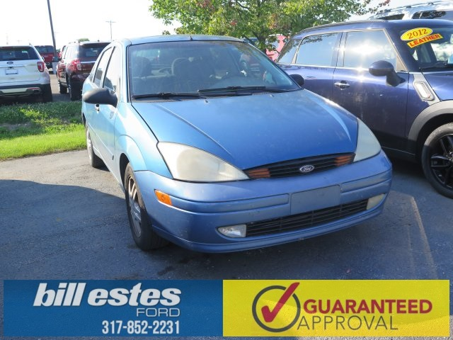 Pre-Owned 2001 Ford Focus SE 4D Sedan