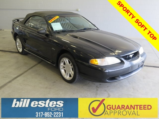 Pre-Owned 1996 Ford Mustang GT 2D Convertible