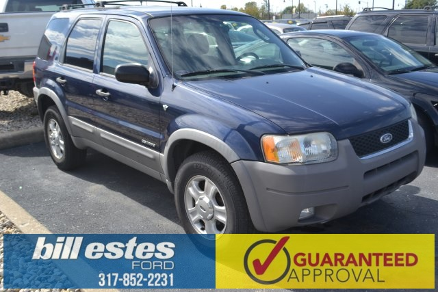 Pre-Owned 2002 Ford Escape XLT 4D Sport Utility