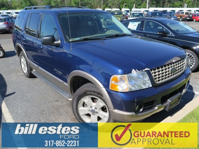 Pre-Owned 2004 Ford Explorer 4D Sport Utility Eddie Bauer 4WD