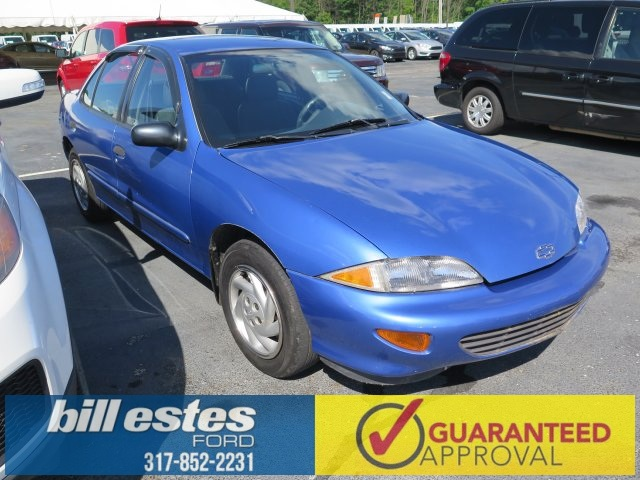 Pre-Owned 1996 Chevrolet Cavalier Base 4D Sedan