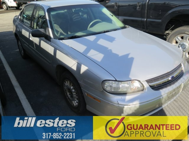 Pre-Owned 2003 Chevrolet Malibu Base 4D Sedan