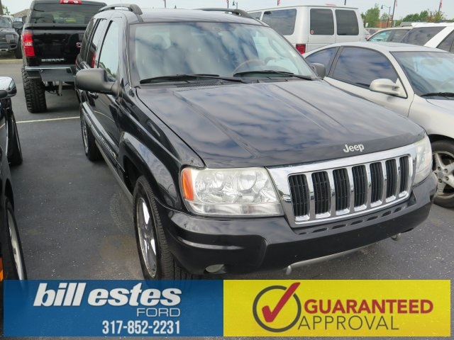 Pre-Owned 2004 Jeep Grand Cherokee 4D Sport Utility Overland 4WD