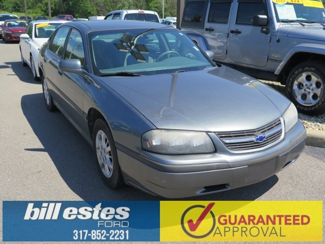 Pre-Owned 2004 Chevrolet Impala Base 4D Sedan