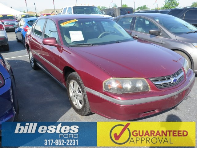 Pre-Owned 2002 Chevrolet Impala  4D Sedan