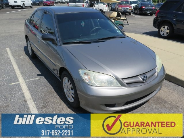 Pre-Owned 2004 Honda Civic LX 4D Sedan