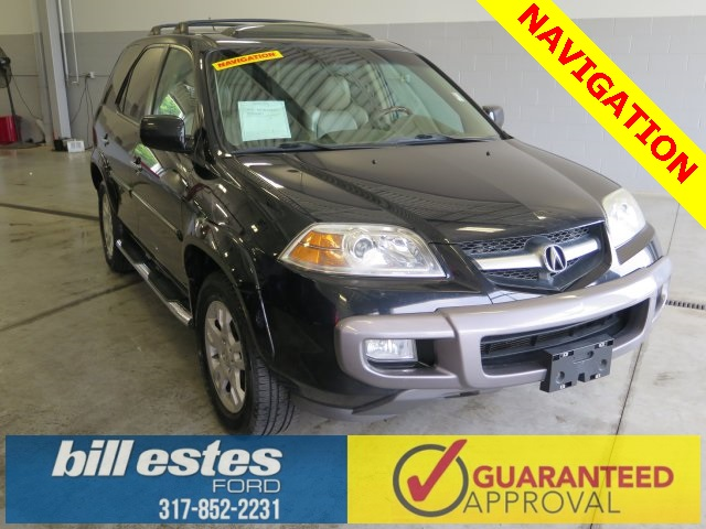Pre-Owned 2004 Acura MDX 4D Sport Utility Touring 4WD