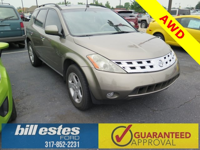 Pre-Owned 2003 Nissan Murano 4D Sport Utility SL AWD