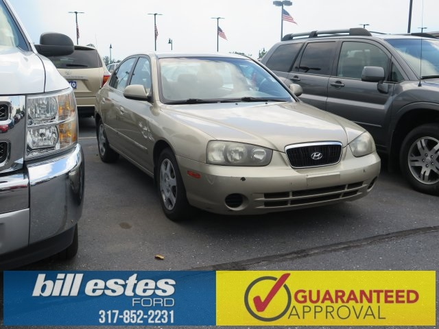 Pre-Owned 2002 Hyundai Elantra GLS 4D Sedan
